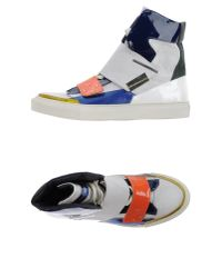 Raf Simons - White High-tops & Trainers for Men - Lyst