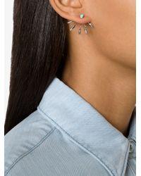 Pamela Love - Gray '5 Spike' Earrings - Lyst