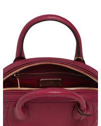 Ferragamo | Purple Small Fiamma Grained Leather Bag | Lyst
