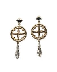Pamela Love | Metallic Sueño Earrings In Brass | Lyst