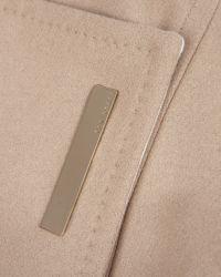 Ted Baker Natural Long Wool Wrap Coat