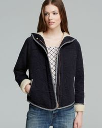 Marc By Marc Jacobs Black Willier Quilted Knit Jacket