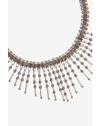 Nasty Gal | Metallic Spike It Up Chain Necklace | Lyst