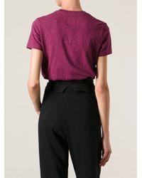 KENZO - Purple Jungle Logo Tshirt - Lyst