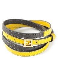 Fendi | Yellow Crayons Bracelet | Lyst