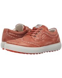 Ecco Red Casual Hybrid Wingtip for men