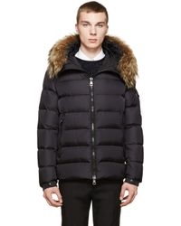 Moncler Black Down Byron Jacket for men