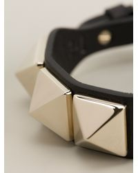 Valentino - Metallic Rockstud Bracelet - Lyst