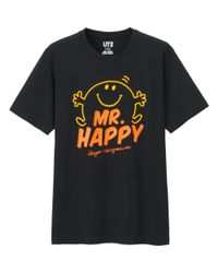 Uniqlo | Black Men Mr. Men Little Miss Short Sleeve Graphic T-shirt for Men | Lyst