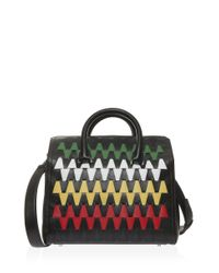 Elena Ghisellini - Black Vicky Graphic Bag - Lyst