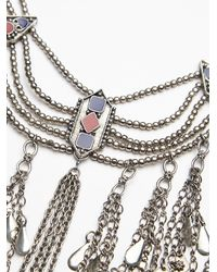 Free People - Metallic Katie Coin Statement Necklace - Lyst