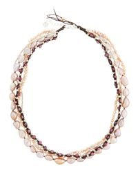 Nakamol | Multicolor Multi-Strand Pearl Necklace | Lyst