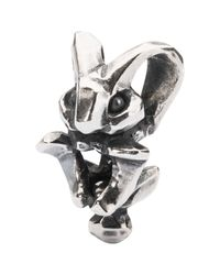 Trollbeads | Metallic Rabbit Of Magic Bead Charm | Lyst