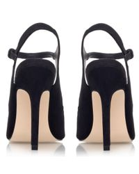 Miss Kg Black Ariel Pointed Court Shoes