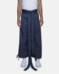 Björn Borg Blue Quilted Workwear Trousers for men