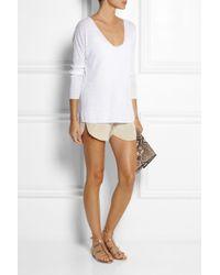 Body Editions - White Stretchjersey Bodysuit - Lyst