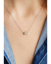 Forever 21 - Metallic Jj Marcs Kisses & Hugs Necklace - Lyst