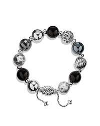 David Yurman - Black Dy Elements Bracelet - Lyst
