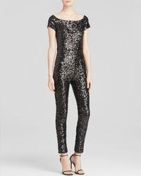 French Connection Black Jumpsuit - Cosmic Sparkle