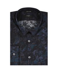 Paul Smith Multicolor The Kensington Abstract Floral Print Shirt for men
