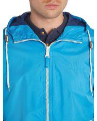 Blend - Blue Casual Full Zip Windbreaker for Men - Lyst