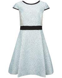Ted Baker Green Qiara Pocket Detail Skirt Dress