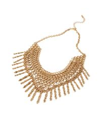 Forever 21 | Metallic Linked Chain Statement Necklace | Lyst