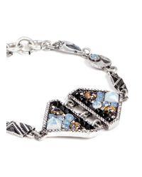 Lulu Frost - Multicolor 'citadel' Glass Opal Bracelet - Lyst