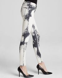 Hudson Jeans - Black Jeans - Bloomingdale'S Exclusive Nico Skinny In Translucent - Lyst