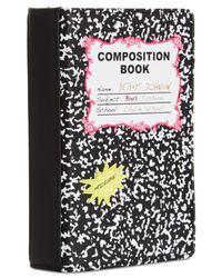 Betsey Johnson - Black Notebook Shoulder Bag - Lyst