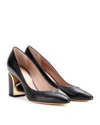 Chloé - Black Beckie Leather Pumps - Lyst