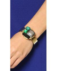 Marni - Green Horn Bracelet - Emerald - Lyst