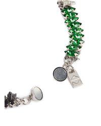 Assad Mounser - Green 'betelgeuse' Swarovski Crystal Necklace - Lyst