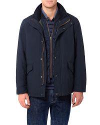 GANT | Blue Doubler Jacket for Men | Lyst