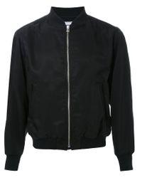 Fad Three Black Bomber Jacket for men