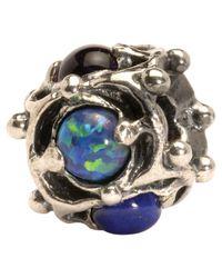 Trollbeads | Metallic Wisdom Precious Stone And Silver Bead | Lyst