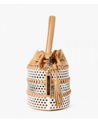 Loeffler Randall | Brown Mini Industry Bag | Lyst