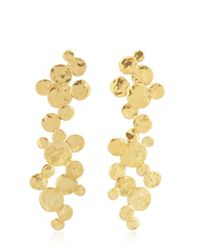 Herve Van Der Straeten | Metallic Pepite Earrings | Lyst