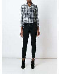 Polo Ralph Lauren - Black Flannel Shirt - Lyst
