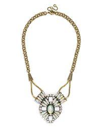 BaubleBar Metallic Mystic Opal Amulet