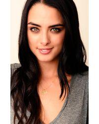 Natalie B. Jewelry | Metallic I Heart California Charm Necklace | Lyst
