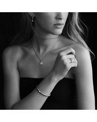 David Yurman - Metallic Petite Pave Heart Ring With Diamonds - Lyst