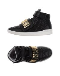 Moschino | Black High-tops & Trainers | Lyst