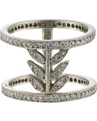 Cathy Waterman | Metallic Wheat-stalk Cage Ring | Lyst