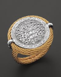 Charriol | Metallic Classique Cable Ring | Lyst