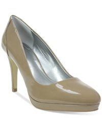 Tahari | Natural Party Pumps | Lyst