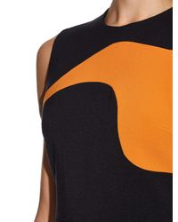 ROKSANDA Black Haussen Wave-insert Midi Dress