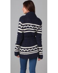 Dolce Vita - Blue Calvin Cardigan Sweater - Lyst