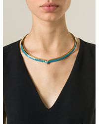 Aurelie Bidermann | Blue 'Apache' Necklace | Lyst