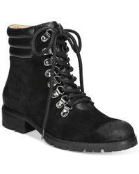 Corso Como Black Whisper Lace-up Booties